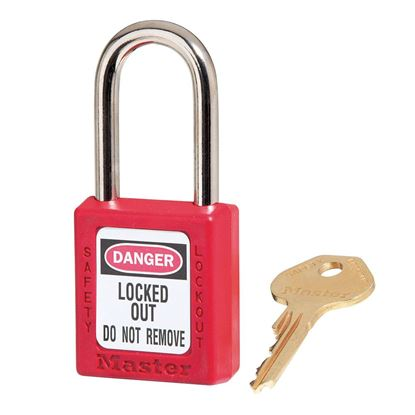 Picture of 21290 - 6PIN RED LOCKOUT/TAGOUT PADLOCK