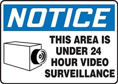 Picture of 34650 - 24 HOUR VIDEO SURVEILLANCE SIGN