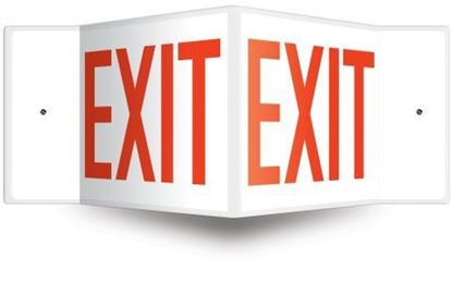 Picture of 34406 - PROJECTION™ SAFETY SIGN: EXIT