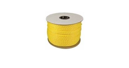 """Picture of 33729 - 1/4""""X600' TWISTED POLYLITE YELLOW"""