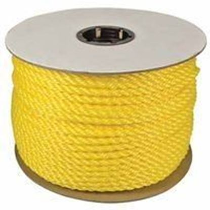 """Picture of 33730 - 3/8""""X600' TWISTED POLYLITE YELLOW"""